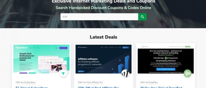 im deals seo coupons