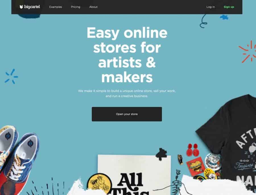 shopify alternatives - bigcartel