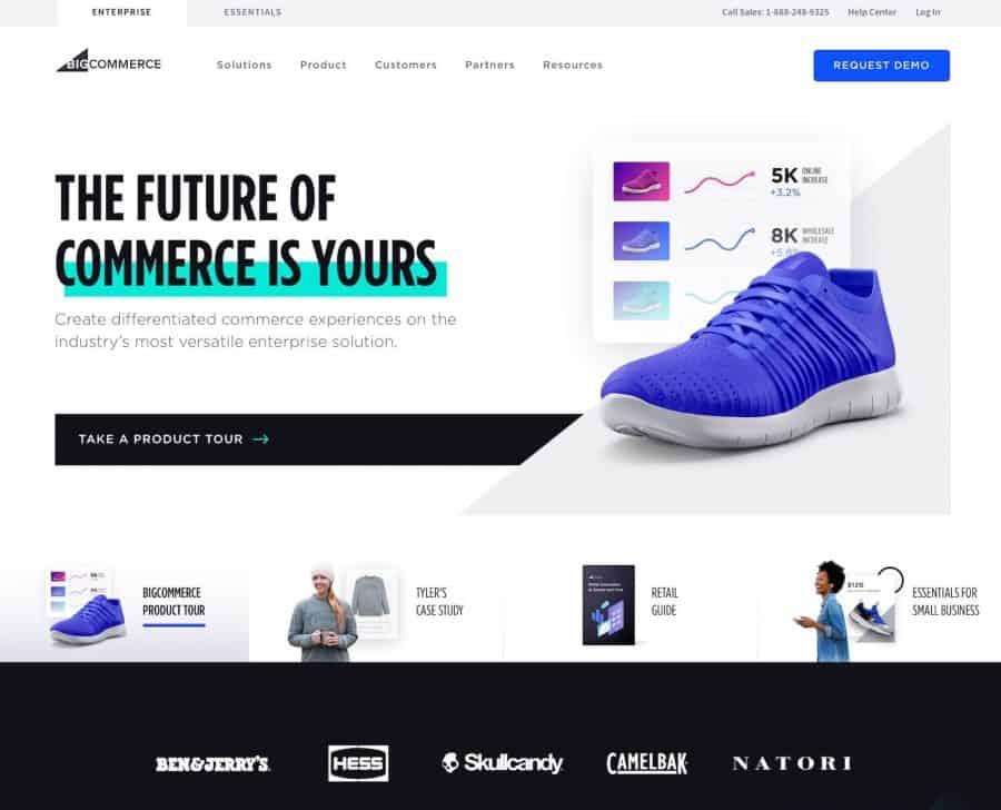 shopify alternatives - bigcommerce