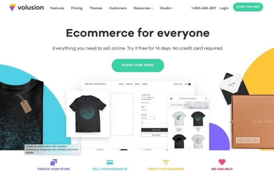 shopify alternatives - volusion