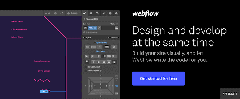 Webflow Signup Banner